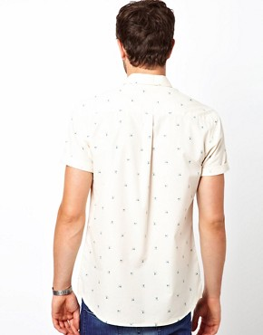 Image 2 ofASOS Shirt With Spectrum Print