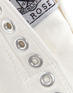 Image 4 ofNew Look America Laceless Plimsolls