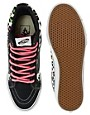 Imagen 3 de Zapatillas de deporte slim con estampado de leopardo Sk8-Hi de Vans