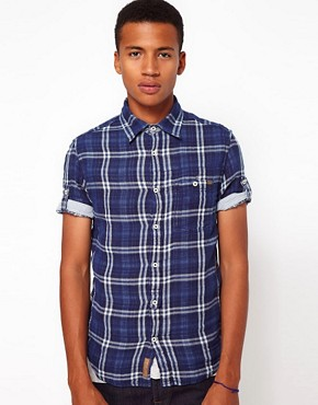 Image 1 ofFreesoul Shirt Short Sleeve Check