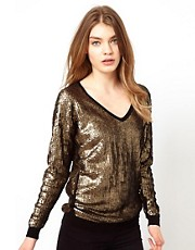 Oasis Sequin Jumper