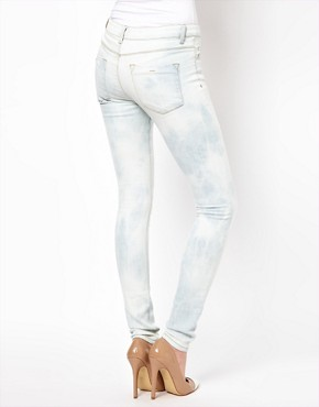 Image 2 ofASOS Ultra Skinny Jean in Bleach Wash