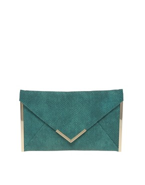 Image 1 ofASOS Side Metal Bar Clutch