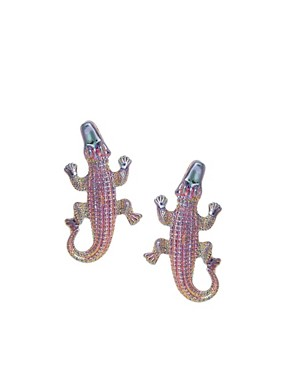 Image 1 ofASOS Alligator Earring