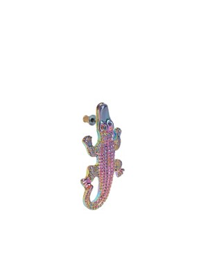 Image 3 ofASOS Alligator Earring
