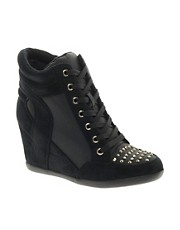 London Rebel Ashton Wedge Trainer