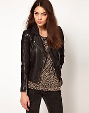 Whistles Mila Leather Jacket