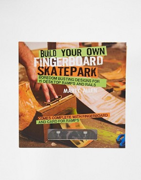 Build Your Own Fingerboard Skatepark Book