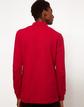 Image 2 ofLacoste Live Long Sleeve Polo Shirt