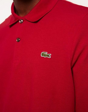 Image 3 ofLacoste Live Long Sleeve Polo Shirt