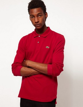 Image 1 ofLacoste Live Long Sleeve Polo Shirt