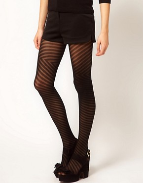 Image 1 ofFalke Diagonal Tights