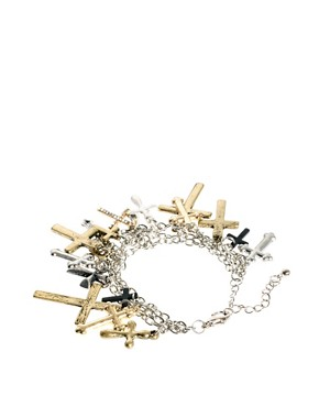 Image 2 ofASOS Cross Charm Bracelet
