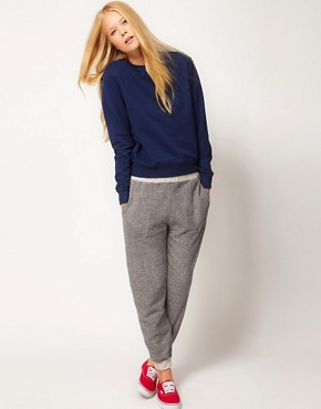 Image 1 ofASOS Joggers in Speckled Sweat
