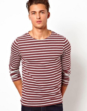 Image 1 ofASOS Stripe Long Sleeve T-Shirt