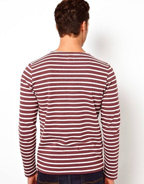 Image 2 ofASOS Stripe Long Sleeve T-Shirt