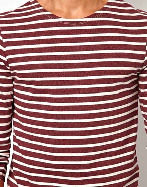 Image 3 ofASOS Stripe Long Sleeve T-Shirt