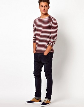 Image 4 ofASOS Stripe Long Sleeve T-Shirt