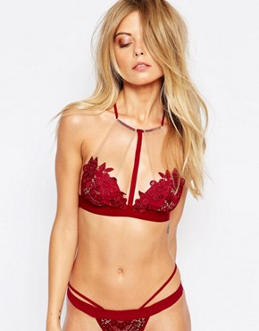 Skivvies For Love & Lemons Lucia Halterneck Bra