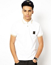 Money Polo Shirt Purity Badge Gold Tipped