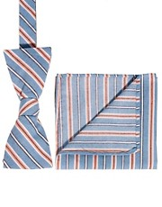 Selected Bow Tie and Pocket Sqaure Set