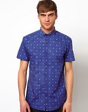 Selected Short Sleeve Shirt With Print