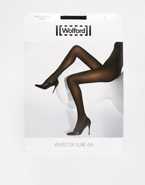 Image 3 ofWolford Velvet Deluxe 66 Tights