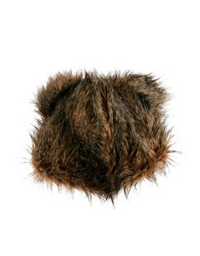 Image 2 ofASOS 3D Bear Fur Hat