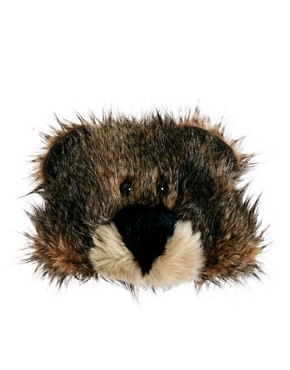 Image 3 ofASOS 3D Bear Fur Hat
