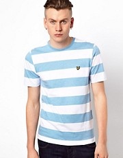 Lyle & Scott Vintage  T-Shirt mit Blockstreifen