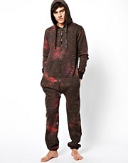 Sinstar Onesie Galaxy Print Exclusive To ASOS