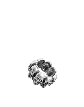 Image 1 of ASOS Skull Headed Ring