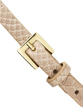 Image 2 ofOasis Faux Snake Leather Belt