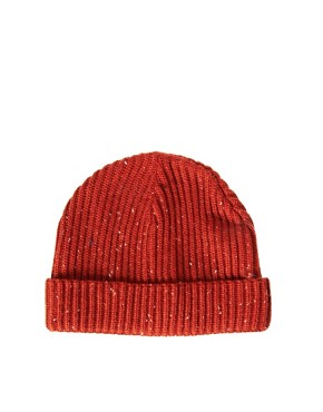 Image 1 ofASOS Fleck Tiny Beanie