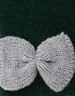 Image 2 ofASOS Bow Gloves