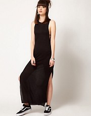 Cheap Monday Maxi Dress With Strapped Sides
