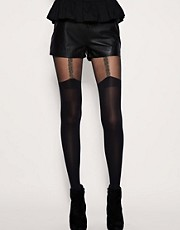 House Of Holland For Pretty Polly Chain Suspender Tights
