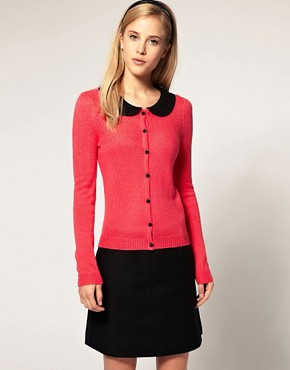 Image 1 ofASOS Cute Collar Cardigan