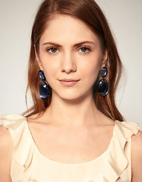 Image 2 ofASOS Oval Drop Earrings