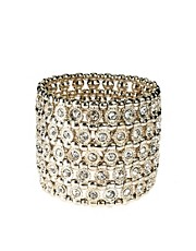 Oasis Ethnic Luxe Stretch Cuff Bracelet