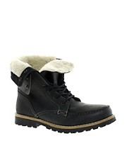 ASOS Foldover Shearling Lined Boot