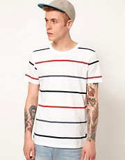 WESC T-Shirt Val Multi Stripe