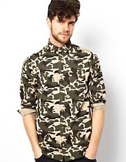 Brave Soul Camo Shirt