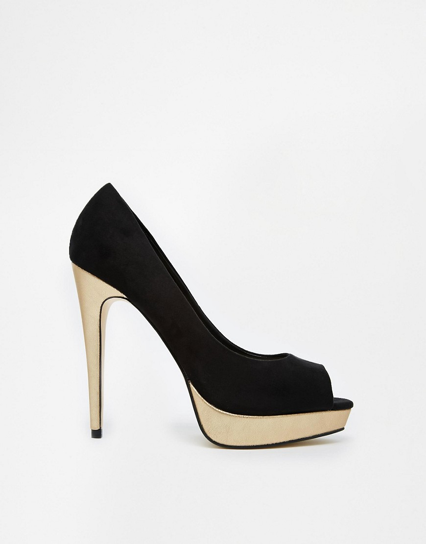 Image 1 of Carvela Kimberly Suedette Heeled Shoes