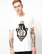 Supremebeing T-Shirt Print Monkey