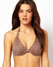 Freya - Cha Cha - Top bikini allacciato al collo con ferretto e coppe D-FF