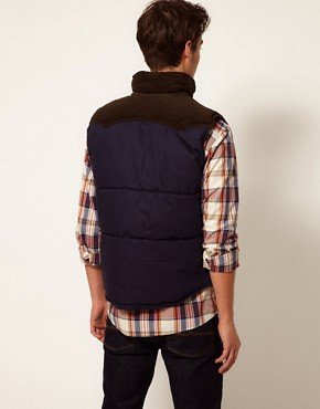 Image 2 of Selected Cord Gilet