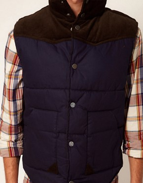 Image 3 of Selected Cord Gilet