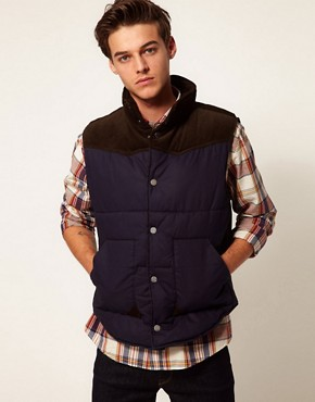 Image 1 of Selected Cord Gilet