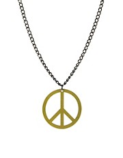 Tally &amp; Hoe Peace Necklace